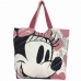 Bolsa Shopping Bag Corações Minnie - Disney